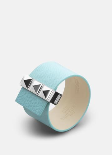 Clasp Rivets Bracelet Steel - Eau de Nil