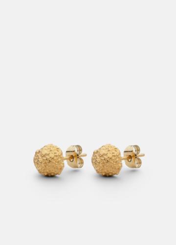 Earring - Opaque Objects - Matte Gold