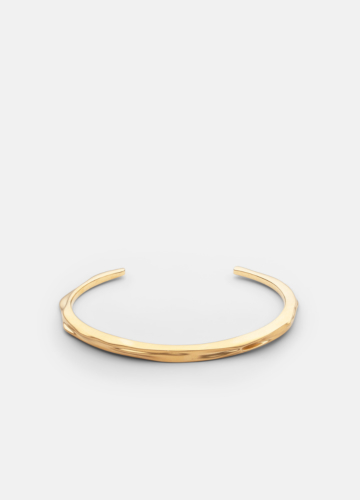 Opaque Objects Cuff  - Matte Gold
