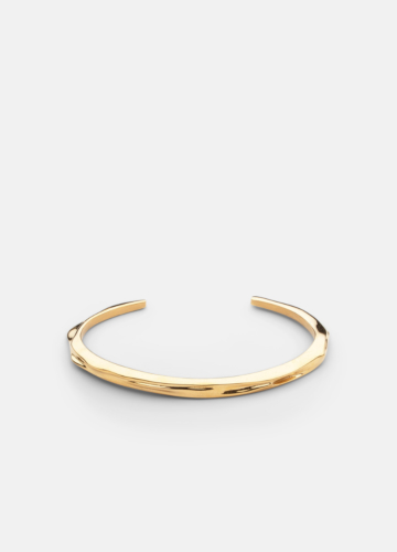 Opaque Objects Cuff  - Gold