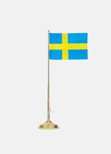 Flagpole with Swedish Flag