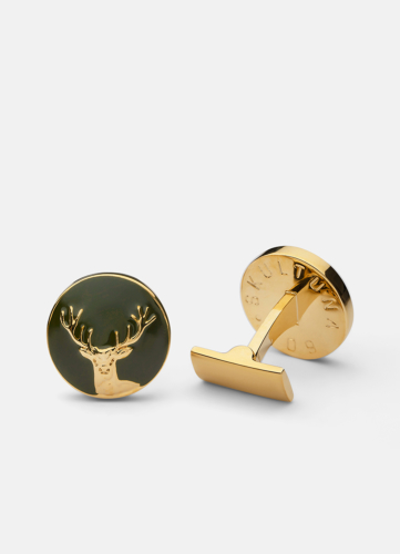The Hunter Gold & Green - The Deer