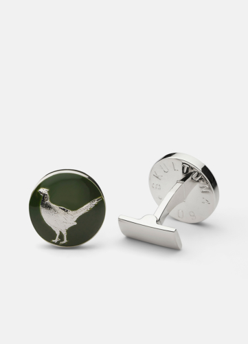 The Hunter Silver & Green - The Pheasant