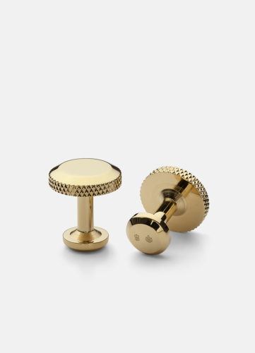 Icon Cuff Link Model 8 - Gold Plated