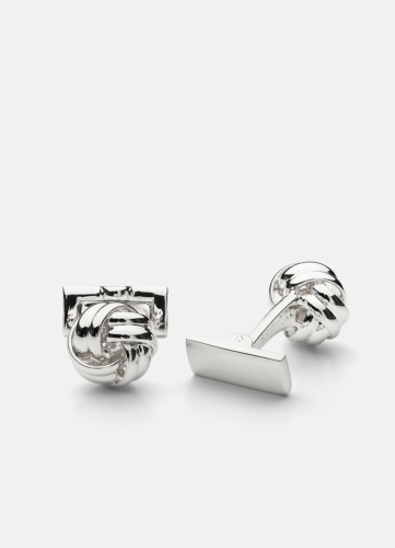 Black Tie - Silver Knot