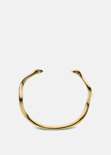 Snake Cuff - Gold Plated