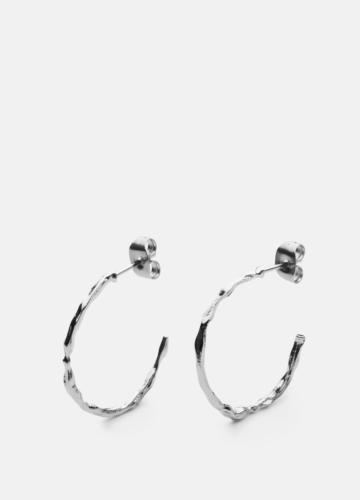 Chunky Loop Earring - Polished Steel