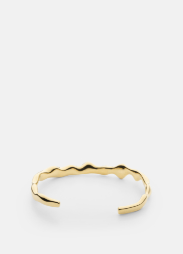 Chunky Cuff - Gold Plated