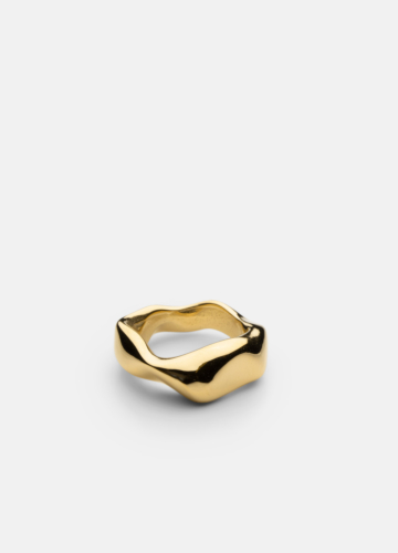 Chunky Petit Ring - Gold Plated