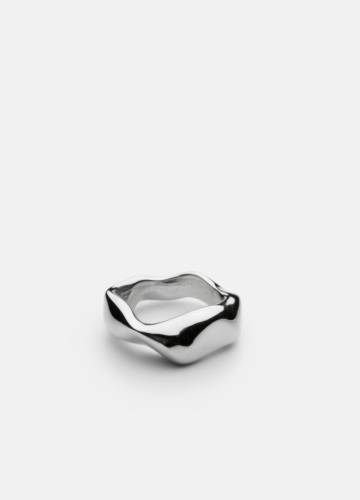Chunky Petit Ring - Polished Steel