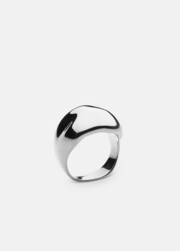 Chunky Ring - Polished Steel