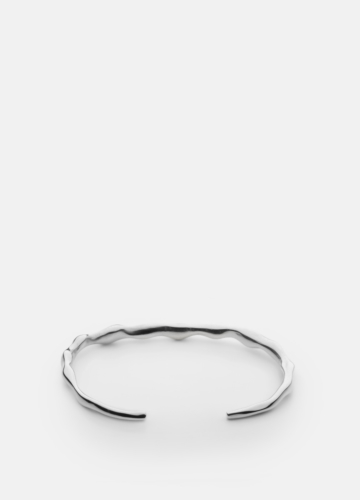 Chunky Petit Cuff - Polished Steel