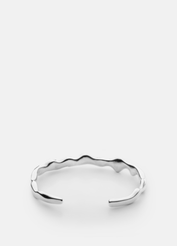 Chunky Cuff - Polished Steel