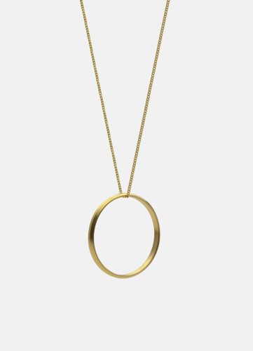 Icon Necklace Gold Plated - Large