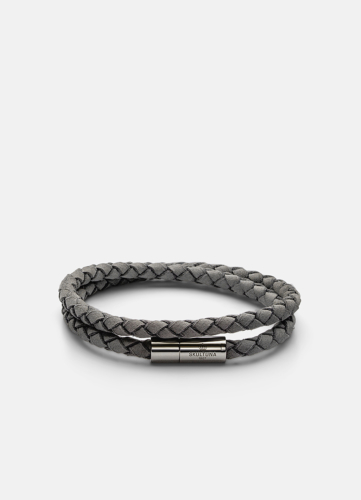 Suede Bracelet - Grey