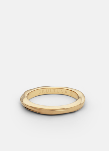 Ring Thin - Opaque Objects - Matte Gold