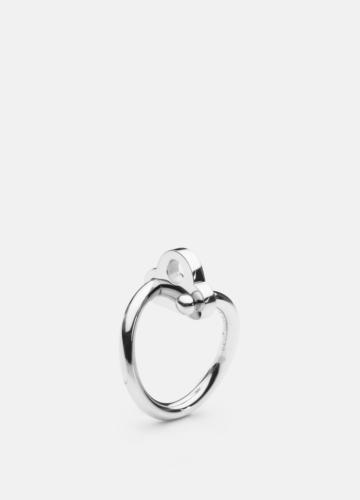 Key Ring - Polished Steel