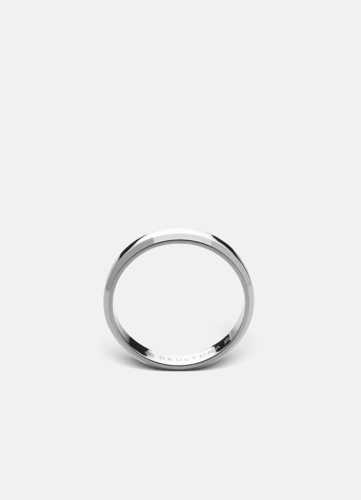 The Icon Ring - Polished Steel