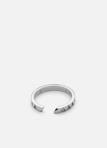 GTG X Skultuna Ring Thin - Polished Steel