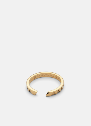 GTG X Skultuna Ring Thin - Gold