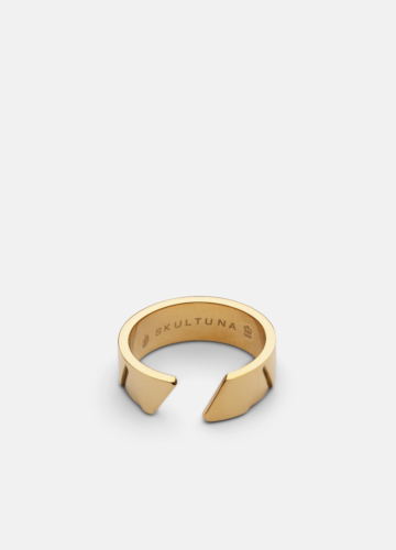 GTG X Skultuna Ring Wide - Gold