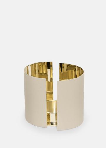 Infinity Candleholder - Large Beige