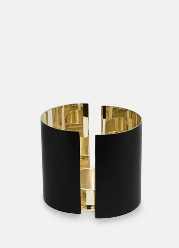 Infinity Candleholder - Large Black