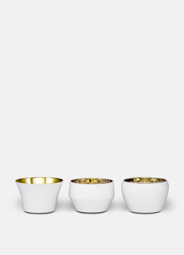 Kin White - Set of 3