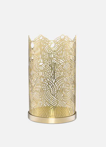 Lunar Large Candleholder - Brass