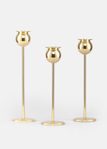 Tulip Candlestick - Set of 3