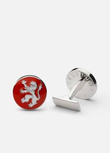 The Rampant Lion Silver - Red & White