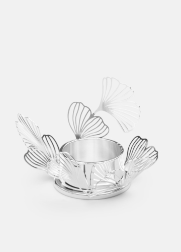 BK.FLWR Candleholder - Silver