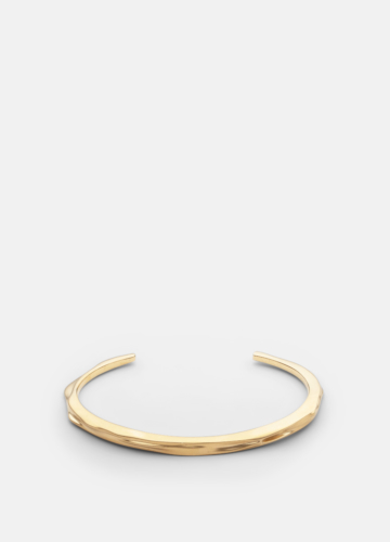 Opaque Objects Cuff  - Matte Gold
