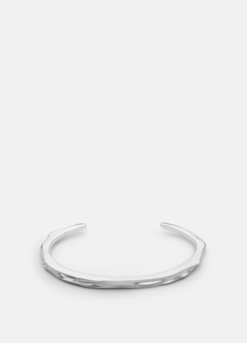 Opaque Objects Cuff  - Matte Steel