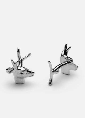 Deer Cuff Links - Skultuna x Krista Kretzschmar