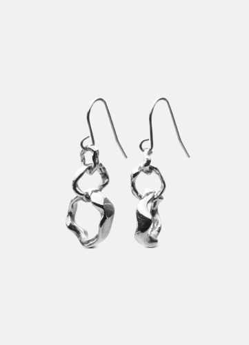 Chunky Petit Earring - Polished Steel