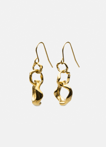 Chunky Petit Earring - Gold plated