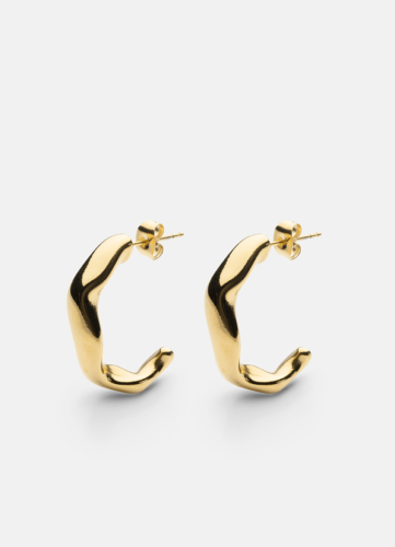 Chunky Earring - Gold Plated