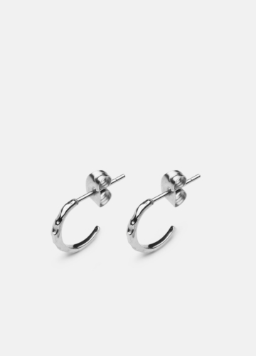 Juneau Petit Earring - Polished Steel