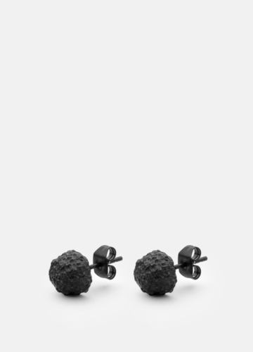 Earring - Opaque Objects - Titanium Black