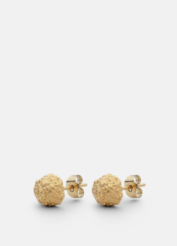 Earring - Opaque Objects - Matte Gold