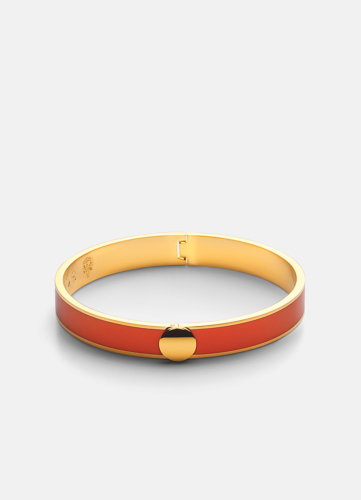 Plain Bangle - Orange