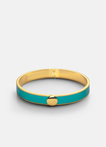 Plain Bangle - Turquoise