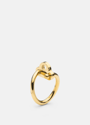Key Ring - Gold Plated