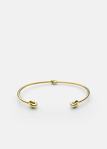 Knot Cuff - Gold Plated