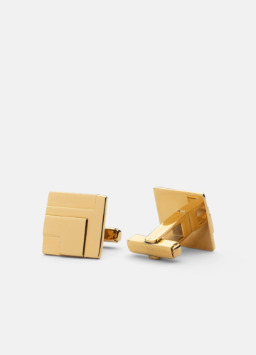Folkform Cuff links - Gold