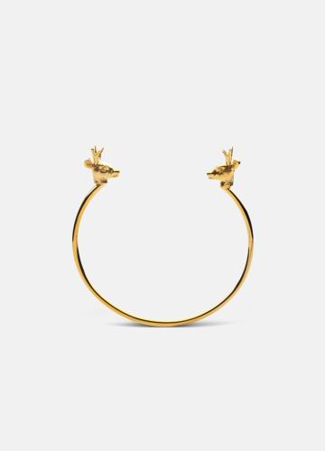 Deer Cuff Thin - Skultuna x Krista Kretzschmar