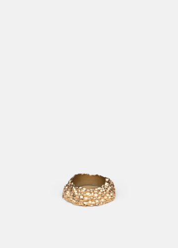 Opaque Objects Tealight Small - Gold