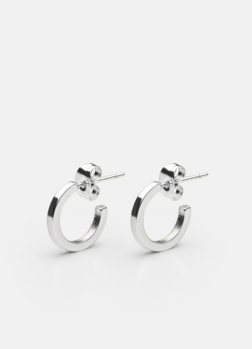 SB Earring - Polished Steel