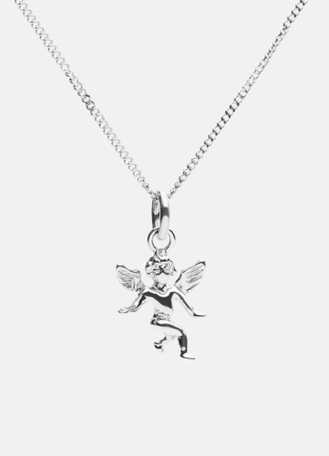 The Angel Necklace - Polished Steel